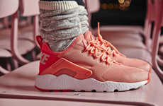 Exoskeleton-Like Women's Kicks - The Nike Air Huarache Ultra Have Been Released for Women