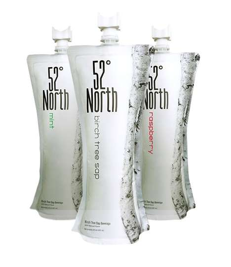 Flavored Birch Water - 52 North's Birch Sap Water Comes in Flavors Like Raspberry and Mint