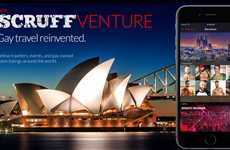 Gay Travel Apps - Scruff Venture Informs Users on Cultural Context Plus Gay-Friendly Places
