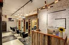 Utilitarian Makeup Salons - The Gibson Hair and Makeup Studio Features a Rustically Undone Aesthetic