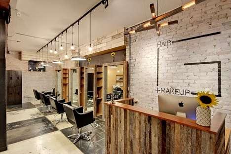 Utilitarian Makeup Salons