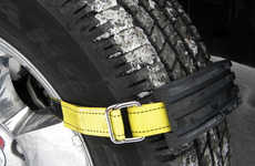 Tire Traction Accessories - The 'Trac-Grabber' Tire Traction Tool Makes Getting Out of a Jam Simpler