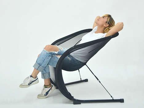 Flexible Fiber Chairs