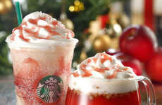 Festive Tea Lattes - This Coffee Chain is Serving Hot Apple Tea During the Holiday Season