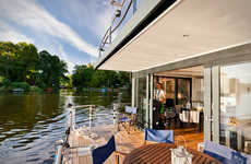 Family-Friendy Houseboats - The 'Nautilus Houseboats' Help Families Feel at Home on the Water