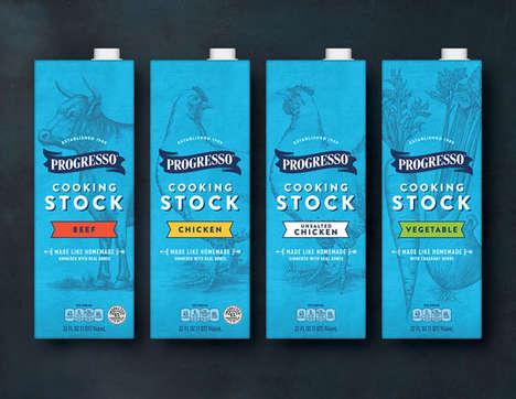 Homespun Soup Stock Branding
