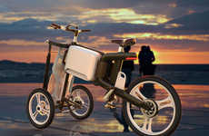 Tourist-Focused Trikes - The 'Solectrike' e-Bike Design Allows Beachgoers to Travel Freely