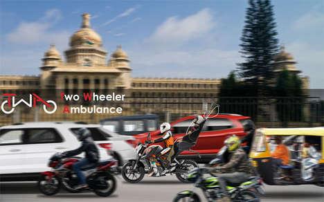 Motorcycle Ambulances