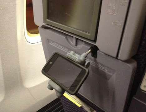 In-Flight Phone Mounts