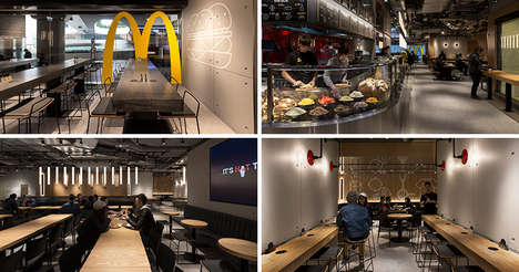 Upscale Fast Food Restaurants