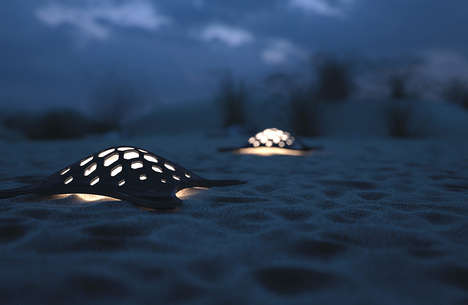Turtle-Inspired Illuminators