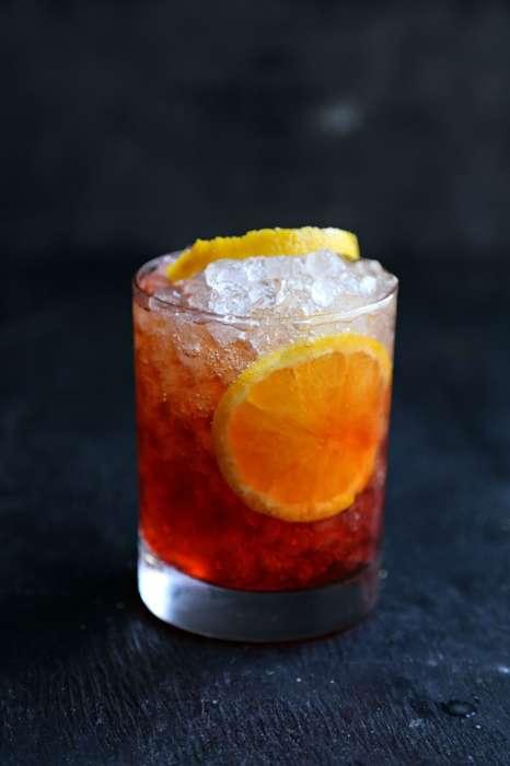 Hibiscus Campari Cocktails