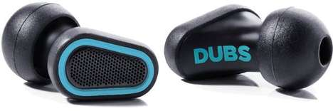 Sound-Focusing Earplugs - The Dubs Acoustic Filters Lower Decibel Levels for Clearer Audio