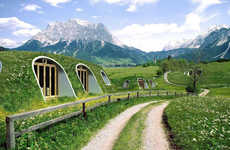 Personalized Hobbit Homes - The Magic Green Homes Let Fans Build Replica Hobbit Holes Anywhere