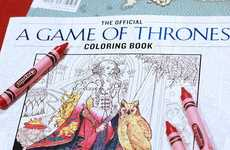 Fantasy TV Coloring Books - This Game of Thrones Art Book is Ideal for Fans of the Show