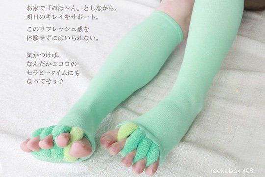 Toe-Stretching Socks