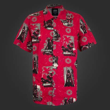 Tropical Sci-Fi Shirts