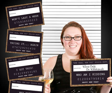 Resolution Mugshot Props