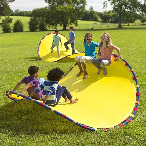 Simplified Playground Toys - The 'Wonder Wave' Delivers a Variety of Different Healthy Activities