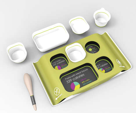 Compartmentalized In-Flight Meals