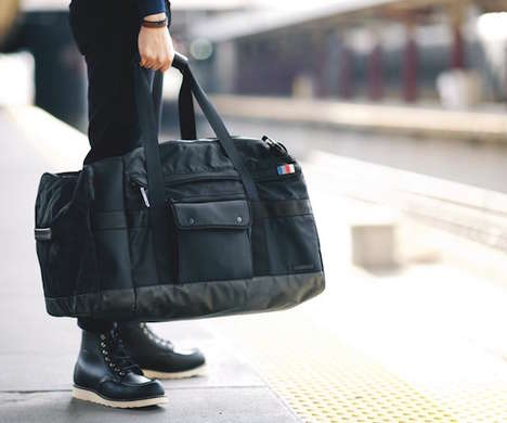 Segmented Compartment Duffle Bags