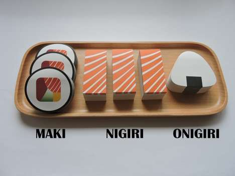 Multidimensional Sushi Stationary