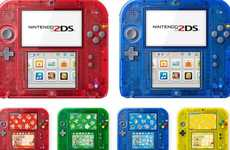 Limited-Edition Handheld Games - The Nintendo 2DS Console Has Arrived in Japan with a Pokemon Theme