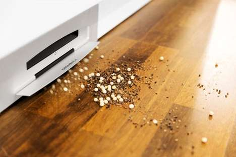Sleek Baseboard Vacuums