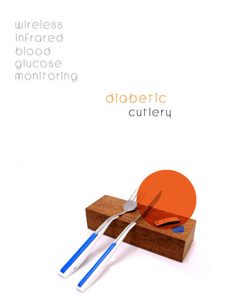 Glucose-Monitoring Cutlery