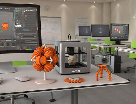 Space-Saving 3D Printers
