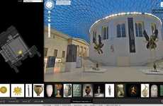 Digitized Museum Collections - The British Museum is Now Offering Virtual Gallery Tours