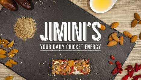 Cricket-Based Energy Bars