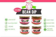 All-Natural Bean Dips - These Bean-Based Spreads are Made from a Blend of Fresh Cooked Beans