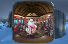 Virtual Reality Santa Visits - The JCPenney VR Santa Experience is Driving In-Store Traffic