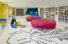 Imagination-Stimulating Libraries - The Children's Library of Thomas's London Day School is Creative