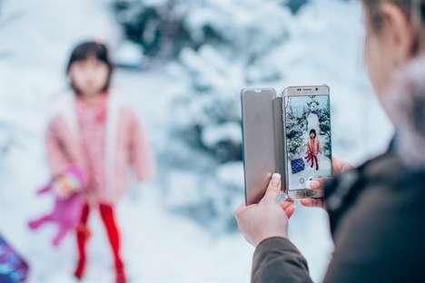 Snowy White Christmas Pop-Ups