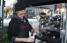Homeless-Helping Street Cafes - This Coffee Cart Helps People Transitioning From Homelessness