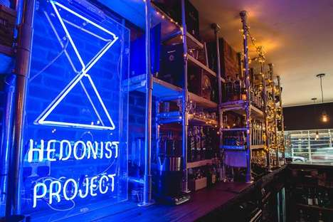 Winter-Themed Whiskey Pop-Ups - The Hedonist Project and Diageo Launch a Festive Holiday Bar