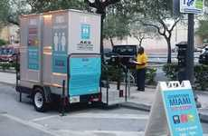 Homeless Bathroom Solutions - Miami Installed Free Public Bathrooms to Reduce Public Pooping Rates