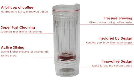 Portable Coffee Marker Tumblers