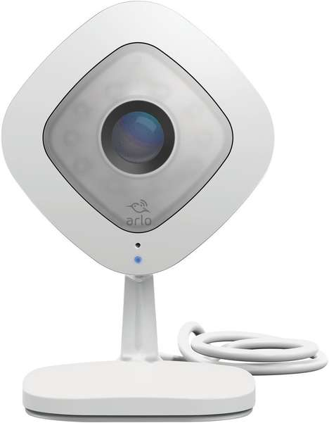 Speaker System Security Cameras - The 'Arlo Q' HD Security Camera Offers Two-Way Voice Communication