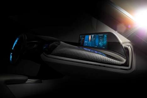 Contactless Touchscreen Consoles - The BMW Airtouch System is a Contactless Touchscreen Console