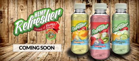 Refreshing Hemp-Based Beverages