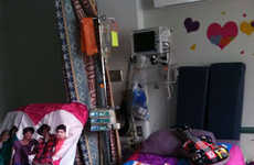 Hospital Room-Redecorating Programs - The 'Design My Room' Initiative Helps Seriously Sick Teenagers