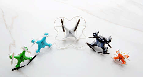 Minuscule POV Drones - The Axis Vidus is the Smallest Flying Device to Offer Remote Person View