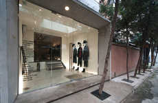 Chic Fashion-Forward Boutiques - The New Beijing Anchoret Store Features an Installation-Like Setup