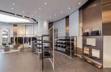 Refined Beige Couture Boutiques - The JOSEPH Store in Singapore is the Brand's First in Asia