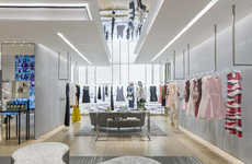 Upscale Galleria Boutiques - The Dior Mexico City Store is Located in the Polanco Neighborhood