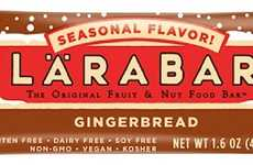 Christmas Cookie Snack Bars - The LARABAR Gingerbread Dessert Bars are a Holiday Edition Snack