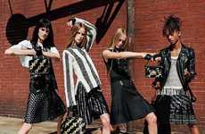 Gender Fluid Couture Campaigns - The Louis Vuitton Spring/Summer Campaign Lacks Gender Barriers